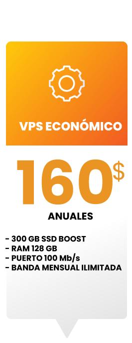 Servidor virtual economico
